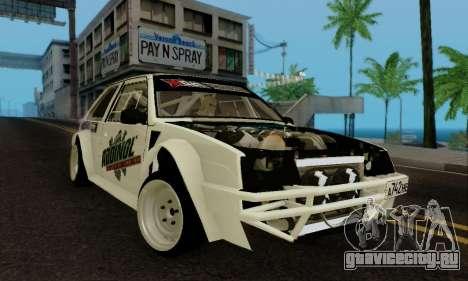 ВАЗ 2108 RDA для GTA San Andreas вид слева