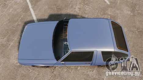 Declasse Rhapsody для GTA 4 вид справа