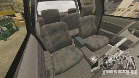 Toyota Hilux Police Western Australia для GTA 4 вид изнутри