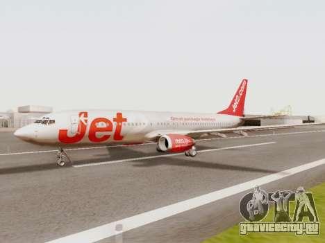 Boeing 737-800 Jet2 для GTA San Andreas