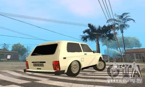 ВАЗ 21214 Avtosh для GTA San Andreas вид справа
