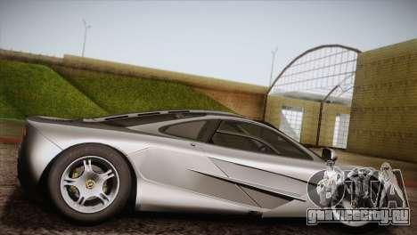 McLaren F1 для GTA San Andreas вид слева