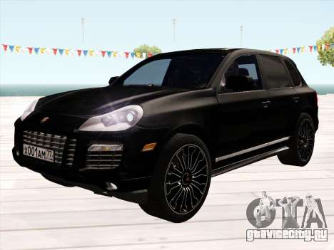 Porsche Cayenne Turbo S 2010 Stock для GTA San Andreas