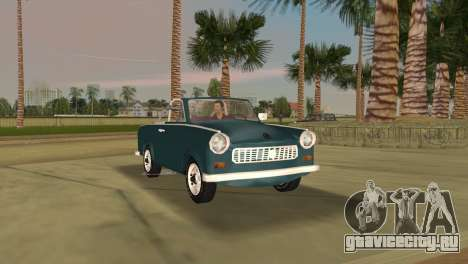 Trabant 601 Custom для GTA Vice City вид слева