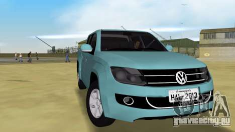 Volkswagen Amarok 2.0 TDi AWD Trendline 2012 для GTA Vice City вид справа