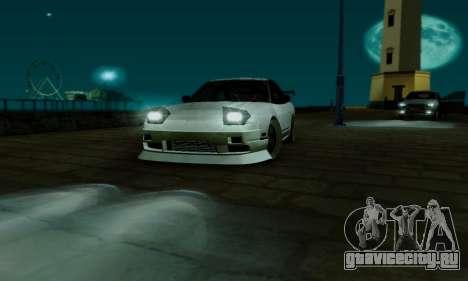 Nissan SX 240 для GTA San Andreas вид сбоку