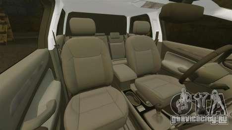 Ford Mondeo Croatian Police [ELS] для GTA 4 вид снизу