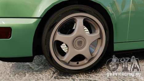 Porsche 911 Speedster для GTA 4 вид сзади