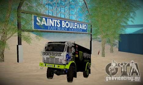 Трасса для бездорожья для GTA San Andreas