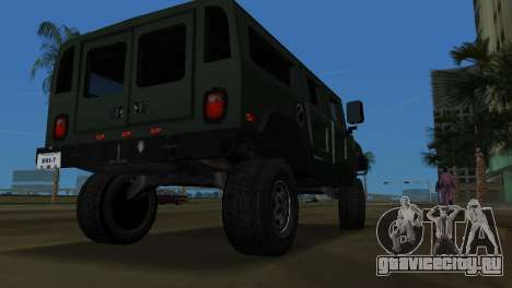 Hummer H1 Wagon для GTA Vice City вид справа