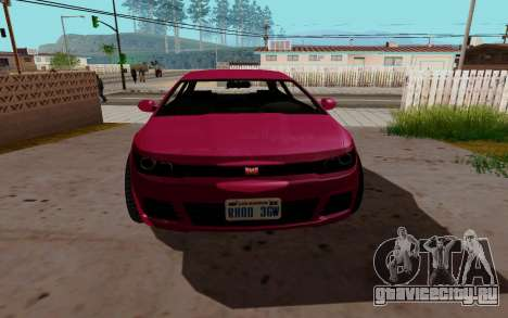Dinka Blista GTA V для GTA San Andreas вид слева