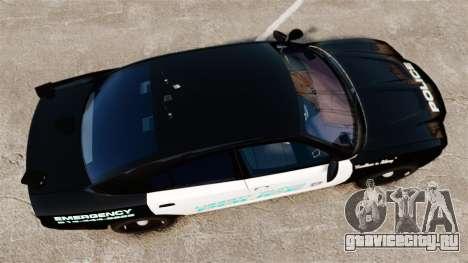 Dodge Charger 2011 Liberty Clinic Police [ELS] для GTA 4 вид справа