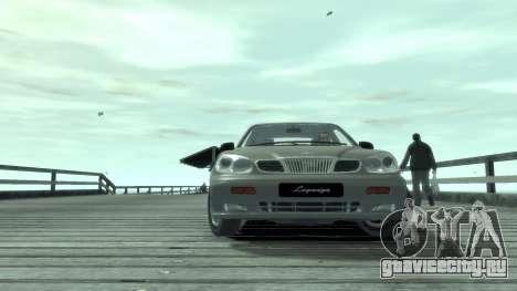 Daewoo Leganza для GTA 4 вид сзади