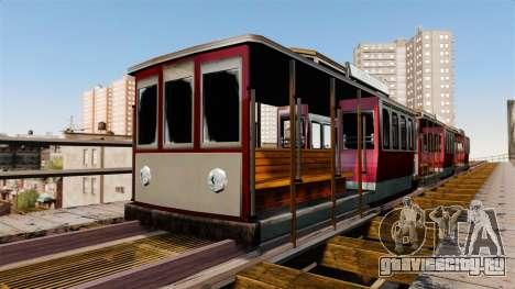 Трамвай из San Andreas для GTA 4