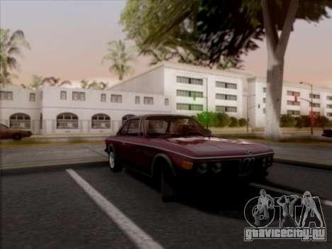 BMW 3.0 CSL 1971 для GTA San Andreas вид сзади слева