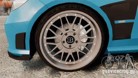 Mercedes-Benz B63 S Brabus для GTA 4 вид сзади