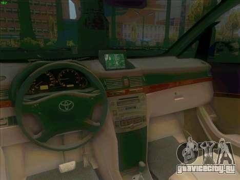 Toyota Alphard для GTA San Andreas вид сзади