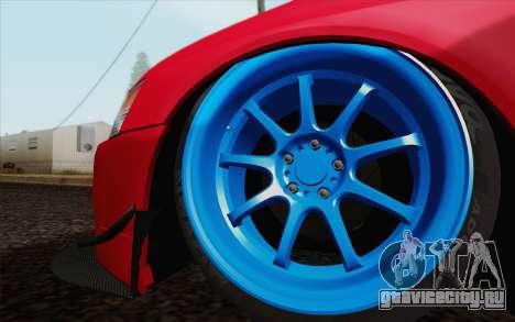 Mitsubishi Lancer MR Edition для GTA San Andreas вид справа