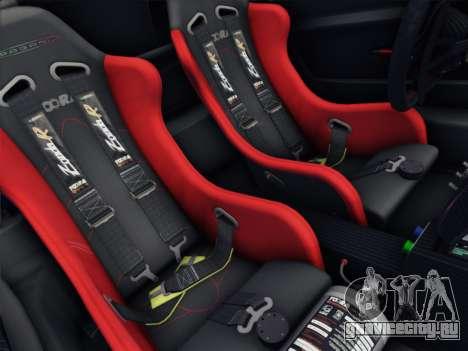 Pagani Zonda R 2009 для GTA San Andreas вид сбоку