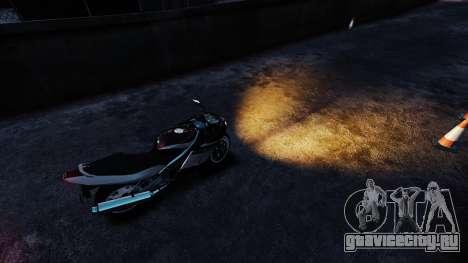 Оранжевый свет фар для GTA 4 второй скриншот