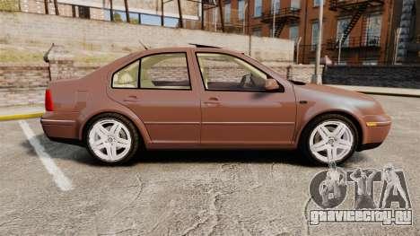 Volkswagen Bora 1.8T Camel для GTA 4 вид слева