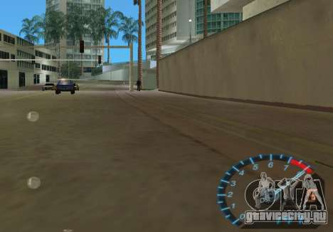 Спидометр из NFS Underground для GTA Vice City