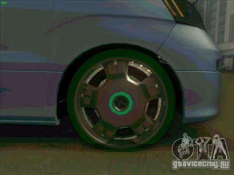Toyota Alphard для GTA San Andreas вид сбоку