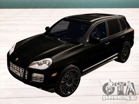 Porsche Cayenne Turbo S 2010 Stock для GTA San Andreas вид справа