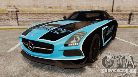 Mercedes-Benz SLS 2014 AMG Black Series Area 27 для GTA 4