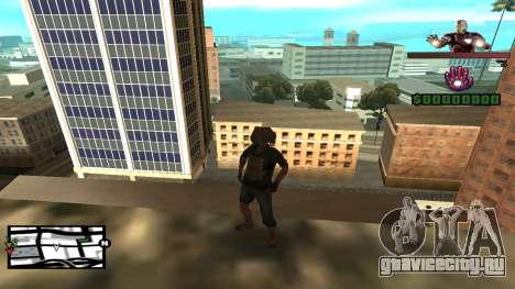 C-HUD Iron Man для GTA San Andreas второй скриншот
