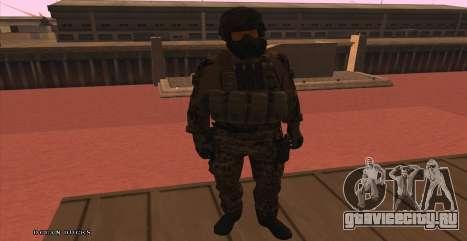 Global Defense Initiative Soldier для GTA San Andreas четвёртый скриншот