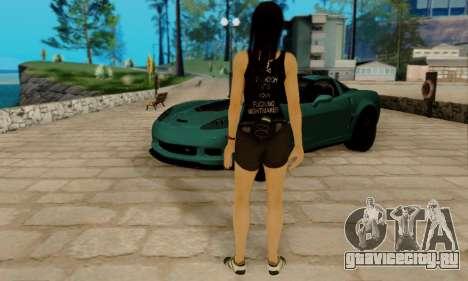 Kokoro A7X для GTA San Andreas пятый скриншот