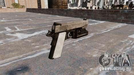 Полуавтоматический пистолет Kimber для GTA 4 второй скриншот