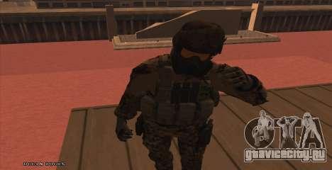Global Defense Initiative Soldier для GTA San Andreas второй скриншот