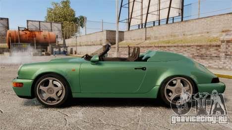 Porsche 911 Speedster для GTA 4 вид слева
