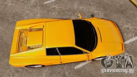 Ferrari Testarossa 512 TR v2.0 для GTA 4 вид справа