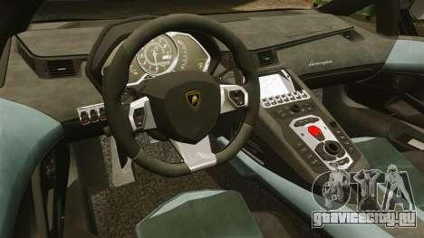 Lamborghini Aventador LP700-4 2012 [EPM] GoPro для GTA 4 вид изнутри