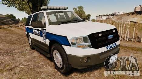 Ford Expedition LCPD SSV v2.5F [ELS] для GTA 4