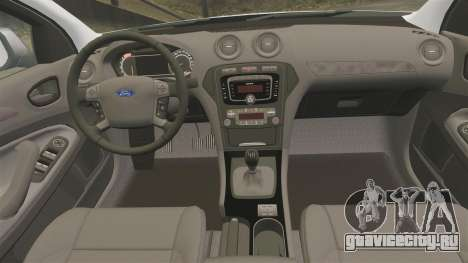 Ford Mondeo IV Wagon Police Nationale [ELS] для GTA 4 вид сбоку