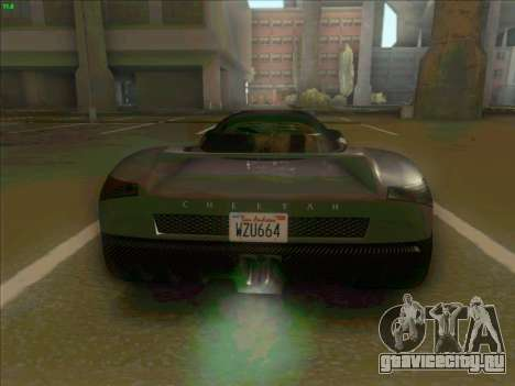 Cheetah Grotti GTA V для GTA San Andreas вид справа