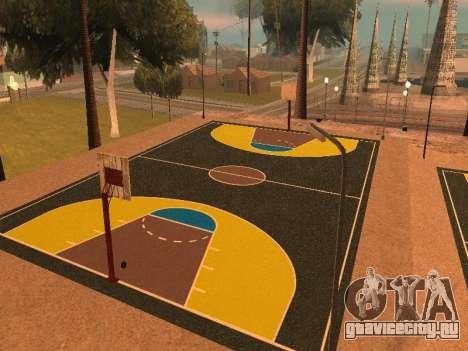 Новая баскетбольная площадка для GTA San Andreas третий скриншот