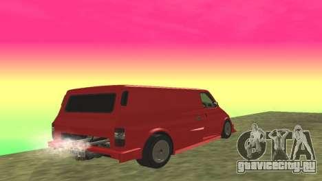 Ford Transit Supervan 3 Пользовательские для GTA San Andreas вид справа