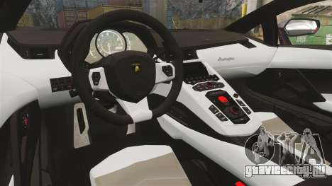 Lamborghini Aventador LP700-4 2012 [EPM] NFS для GTA 4 вид изнутри