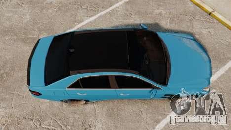 Mercedes-Benz B63 S Brabus для GTA 4 вид справа
