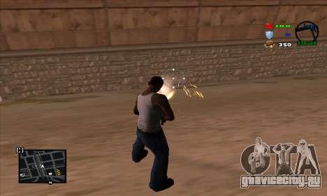 C-HUD Lite для GTA San Andreas третий скриншот