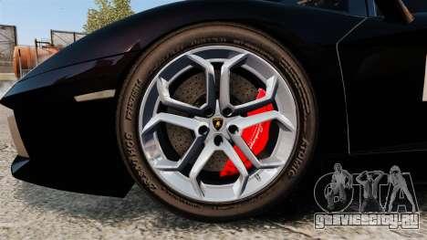 Lamborghini Aventador LP700-4 2012 [EPM] GoPro для GTA 4 вид сзади