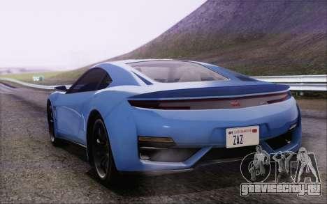 GTA V Dinka Jester HQLM для GTA San Andreas вид слева