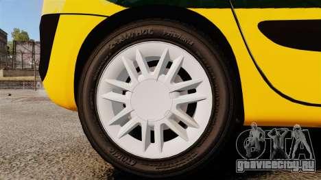Renault Espace Police Nationale [ELS] для GTA 4 вид сзади