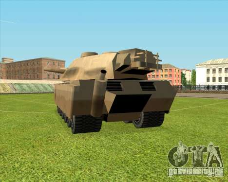 Rhino tp.Elephant - 100.128mm для GTA San Andreas вид слева