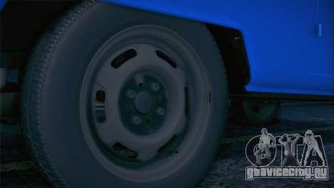 Volkswagen T1 Milicija для GTA San Andreas вид справа